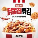 KFC, 닭껍질 다음은?…사이드메뉴 '닭똥집튀김' 출시