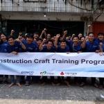 포스코건설, 인니 '건설기능인력' 교육센터 개소