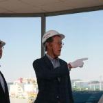 """허창수 GS 회장, 보령 LNG 터미널 방문…""""안정적인 LNG 공급할 것"""""""