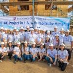 대한항공, 델타항공과 LA 에서 '사랑의 집 짓기' 봉사활동