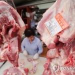 아프리카돼지열병 발병 여파에 돼지고기 소매가 사흘 연속 상승