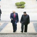 """트럼프 """"김정은과의 관계 구축이 재임 중 가장 좋은 일"""""""