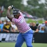 세계 골프 최장타자 앨런, 한국에서 장타 대결