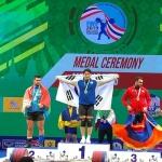 진윤성, 역도선수권 인상 金…합계 은메달