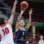 한국 여자 농구, 일본에 무기력 참패