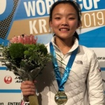 스포츠클라이밍 서채현, 월드컵 3개 대회 연속 우승