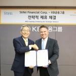 KB금융, 스티펠 파이낸셜과 손잡고 '선진국 공략'