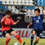 한국 U-19 여자축구, 일본에 0-2 패배
