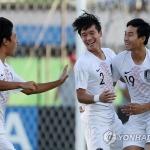'백상훈-홍성욱 골' 한국 U-17, 칠레에 2-1 승리…16강에서 앙골라 만난다