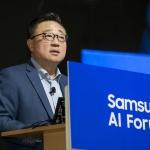 """고동진 삼성전자 사장 """"5G·AI 선두에서 미래 주도할 것"""""""