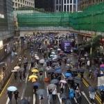 홍콩 시위 격화…도심 곳곳서 시위대-경찰 충돌