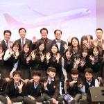 한창수 아시아나항공 사장, '교육기부 3000회' 기념 특강