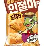 오리온, 고소한 풍미 '꼬북칩 달콩인절미맛' 출시
