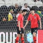 한국 축구, '브라질 벽' 뛰어넘지 못했다