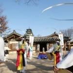 '풍물 한마당' 관객들과 추위 날린다