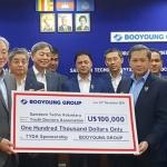 부영그룹, 캄보디아 의료봉사단체에 10만달러 후원