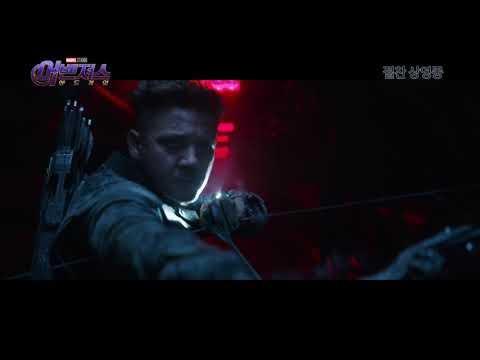 [영상] 어벤져스: 엔드게임, 대한민국 감사 영상 공개‥로다주X브리 라슨X제레미 레너
